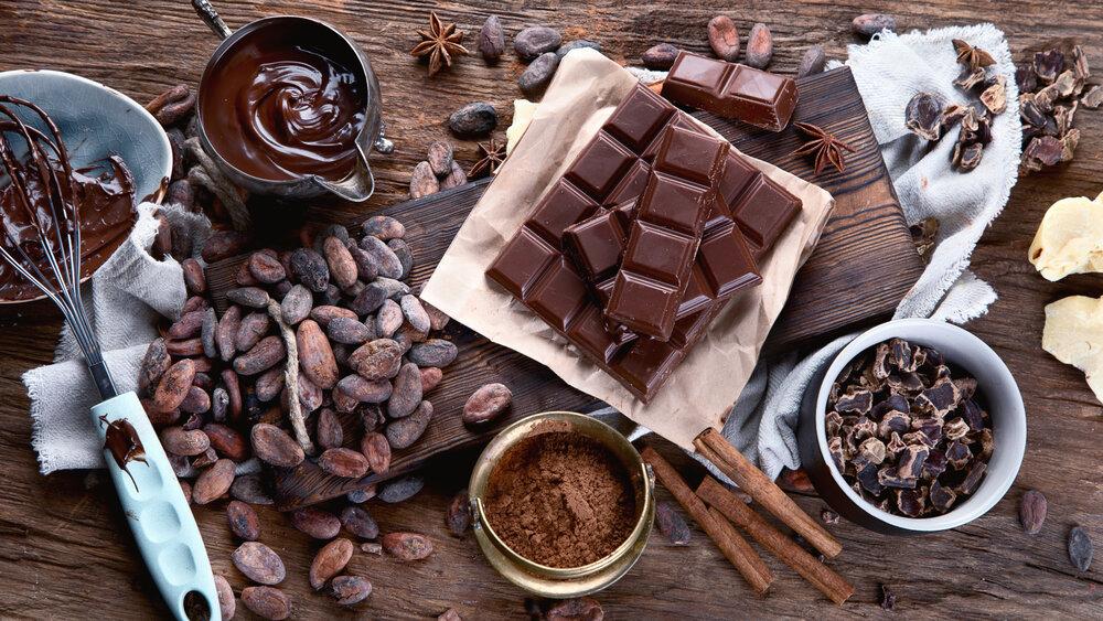 Dark chocolate that is antioxidant-rich.