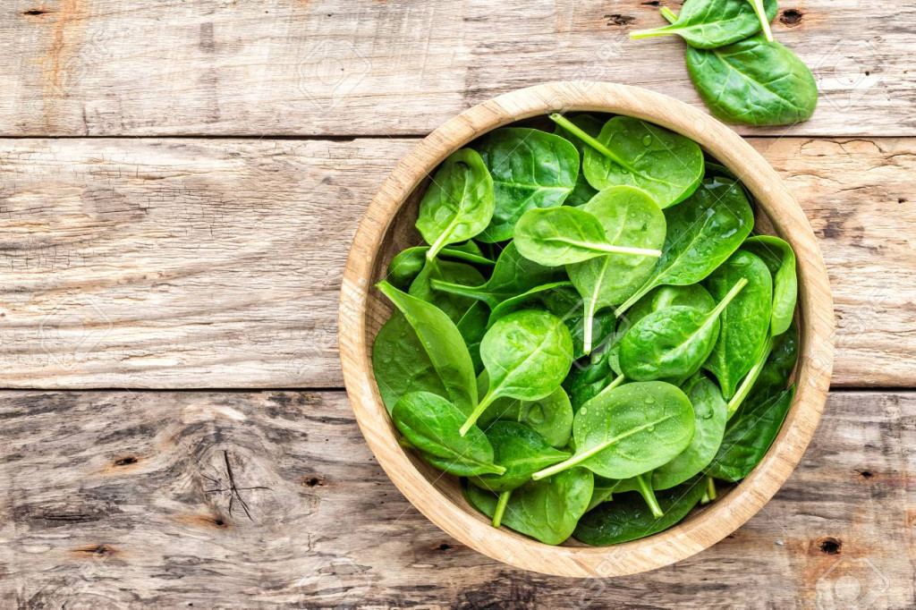 Spinach is antioxidant-rich.